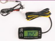 Digital Hour Meter Tachometer with temperature and backlight